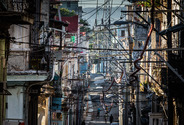 Overhead cables, Centro Habana